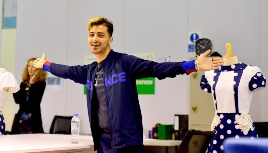 Tahsin-Kerim Ibis est l'un des 38 jeunes Français à participer aux WorldSkills 2017, dans la catégorie mode. //©©WorldSkillsFrance  _LaurentBagnis