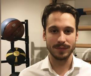 Pierrick Gervais, 27 ans, est kinesitherapeute en cabinet.