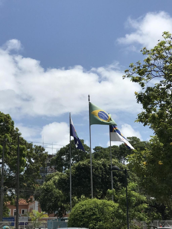 Sur le campus de l'Icam à Recife. //©Clément Rocher