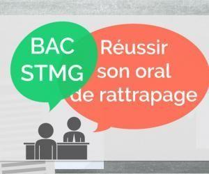 Bac STMG - Oral de rattrapage