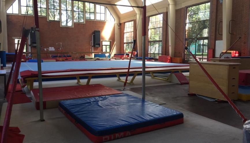 Les installations sportives de Paris-Descartes attendent les étudiants qui reprendront le sport la deuxième semaine de rentrée. //©Laura Taillandier