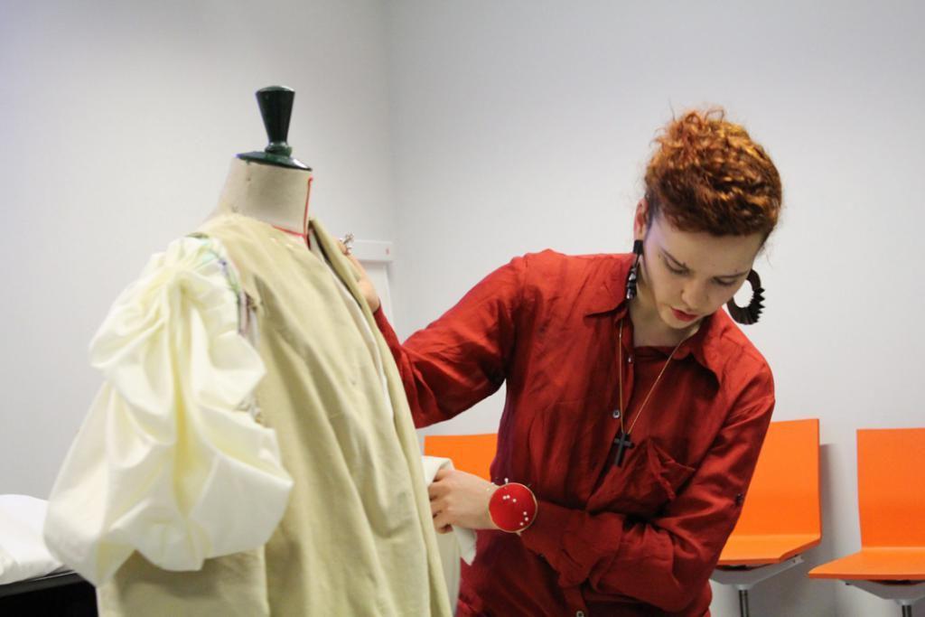 On entre à l'Institut français de la mode pour se frotter aux entreprises. Tout au long du cursus, les étudiants travaillent sur des cas réels proposés par des professionnels. //©Institut français de la mode