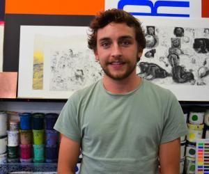 Cela fait un an que Clément s'est installé au Havre pour poursuivre ses études d'art.