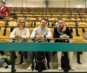Léa, Théo et Anne-Cécile sont en troisième année de STAPS à Nancy. Contrairement aux idées reçues, ils passent plus de temps en amphi qu'au stade.