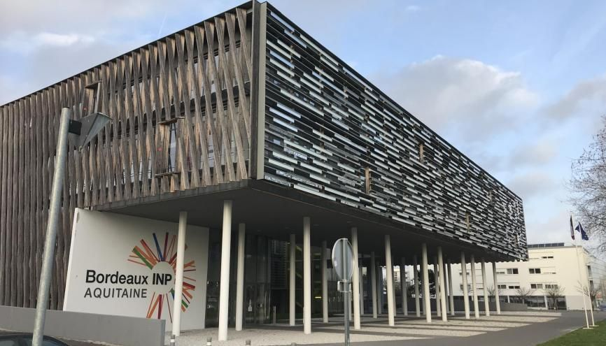 L'établissement Bordeaux- INP accueille des étudiants issus de la prépa des INP. //©Clément Rocher