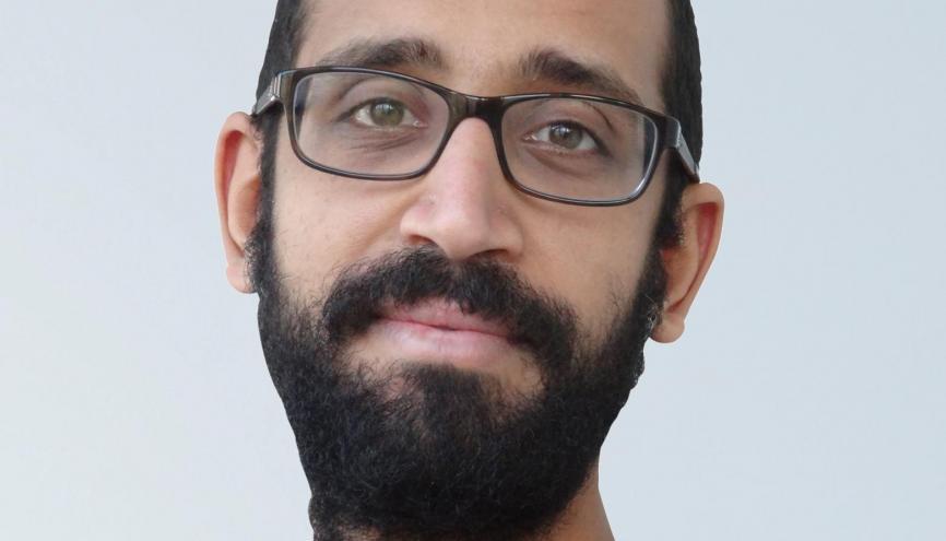"""Ayman, enseignant-chercheur à l'UPMC : """"Quand j'ai postulé à la fac, j'ai tout de suite eu un poste."""" //©Photo fournie par le témoin"""
