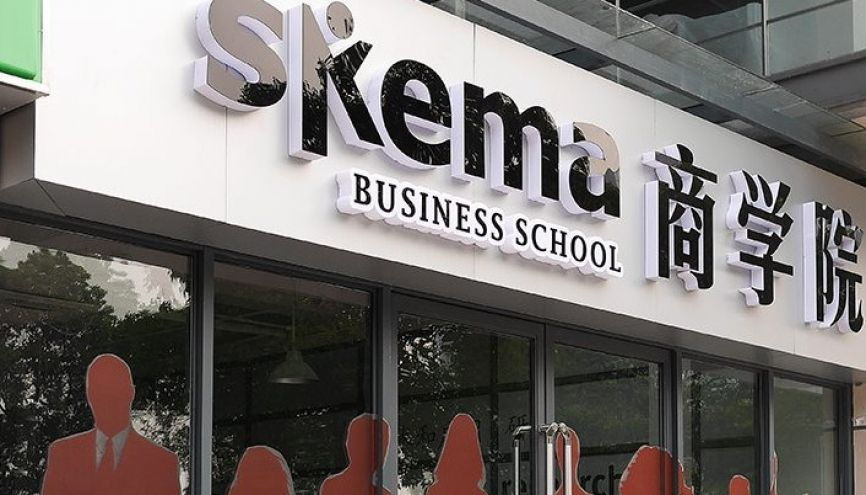 Le campus de Skema BS à Suzhou en Chine. // © Skema Business School
