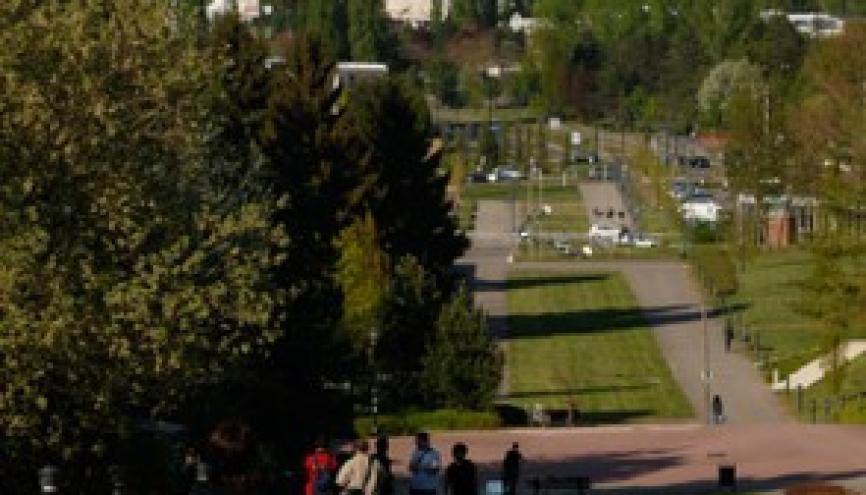 Le campus historique de l'Illberg à Mulhouse // © UHA //©UHA