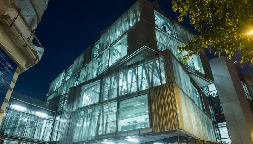 Au c ur de l cole d architecture de strasbourg chez les for Architecture du futur