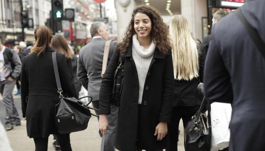 Nawale est tombée amoureuse de la capitale britannique.  Elle compte bien y séjourner encore un petit moment puisqu'elle a choisi d'y effectuer son stage de fin d'année. //©Clémentine Schneidermann pour l'Etudiant