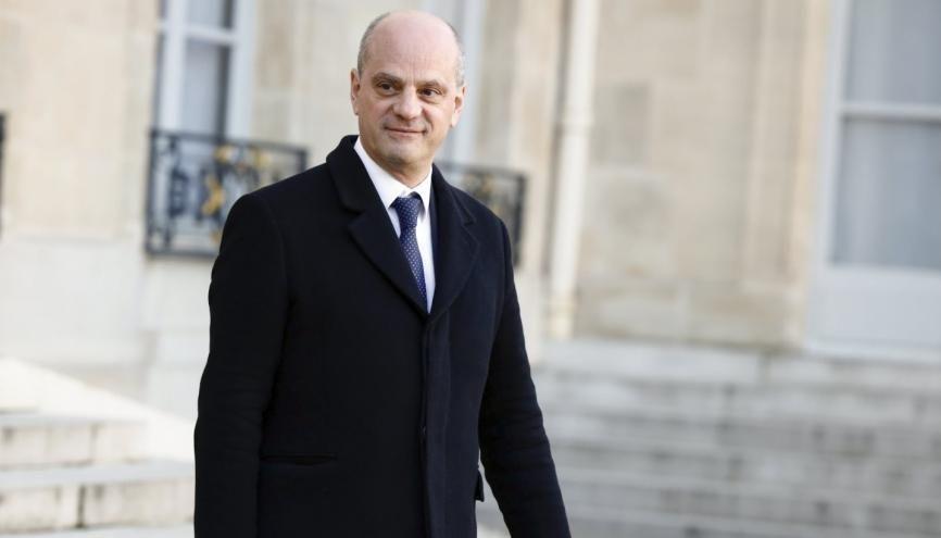 Jean-Michel Blanquer, le ministre de l'Éducation national. //©Hamilton / REA