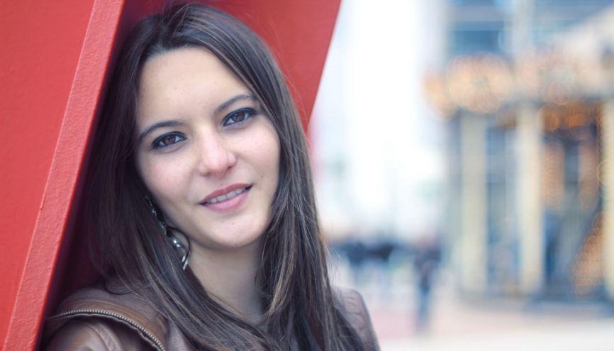 Thaïs, 19 ans, en première année de l'IEP de Grenoble (nov. 2014). //©TG