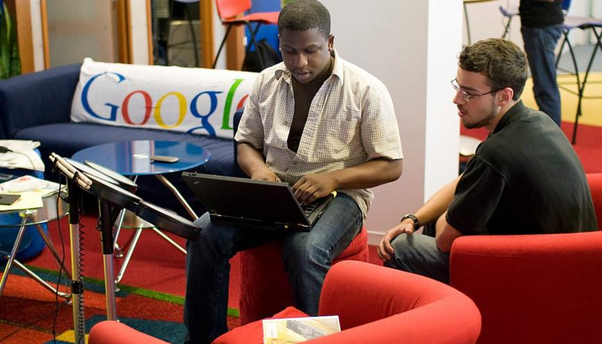 Google reste l'entreprise rêvée des futurs ingénieurs comme des futurs diplômés de grande école de commerce //©Google