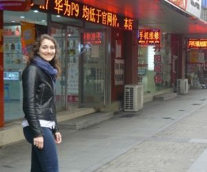 Alix, en 3e année du master grande école de Kedge, a passé un semestre sur le campus de Suzhou en Chine.