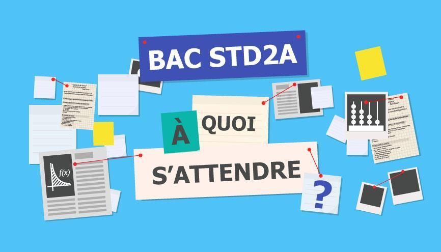 Bac STD2A - À quoi s'attendre //©Juliette Lajoie
