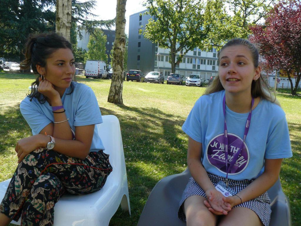 """Dans le cadre du parcours """"entrepreneuriat et associations"""", Élisée et Alice ont appris la gestion de projet. //©Cécile Peltier"""