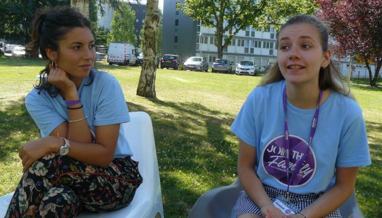 """Dans le cadre du parcours """"entrepreneuriat et associations"""", Élisée et Alice ont appris la gestion de projet."""