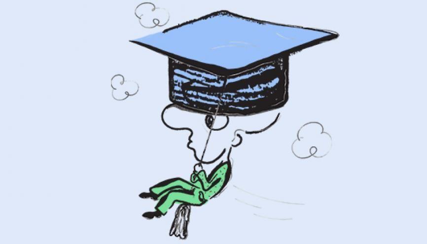 L'actu du sup : ça bouge dans l'enseignement supérieur. //©absurd.design
