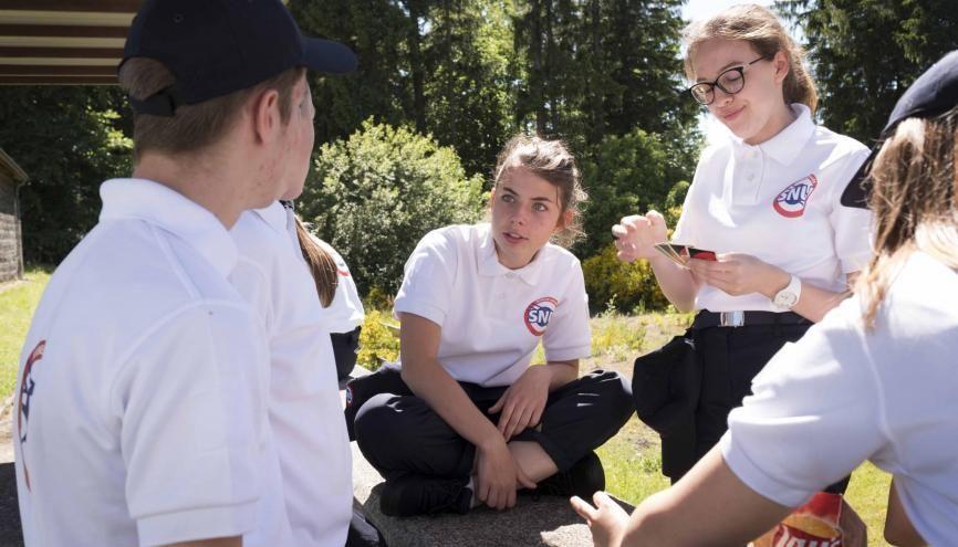 À Orcines dans le Puy-de-Dôme, 137 jeunes ont participé au SNU. //©Photo fournie par le témoin