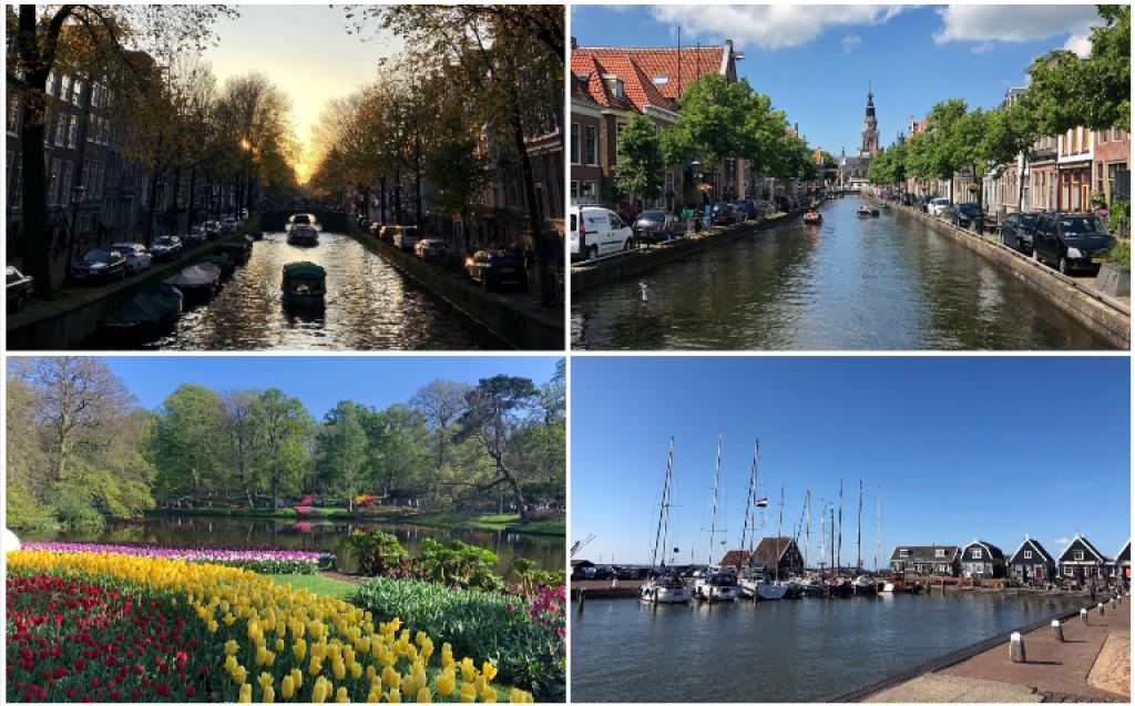 D'Amsterdam à Keukenhof, en passant par Marken et Alkmaar, les paysages néerlandais ont de quoi séduire. //©Photos fournies par le témoin