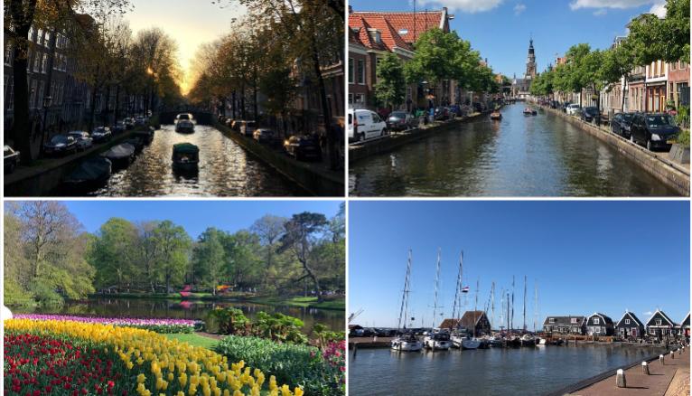 D'Amsterdam à Keukenhof, en passant par Marken et Alkmaar, les paysages néerlandais ont de quoi séduire.
