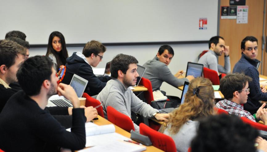 Le parcours Global BBA de l'ESSEC recrute ses étudiants par le biais du concours Sésame. //©ESSEC