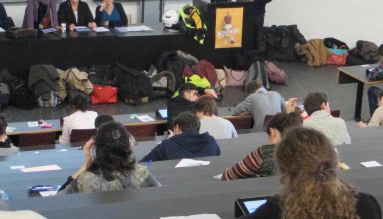 Jour de test des ECNi à l'UVSQ, en décembre 2015