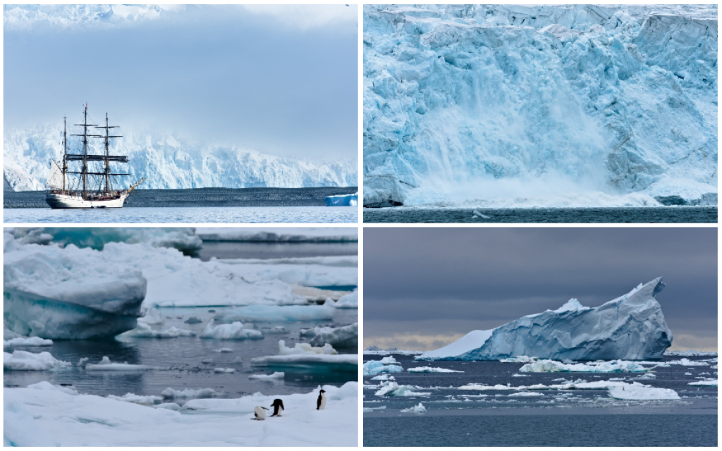 Nacim est parti six semaines à bord de l'Arctic Sunrise. //©Nacim Guellati
