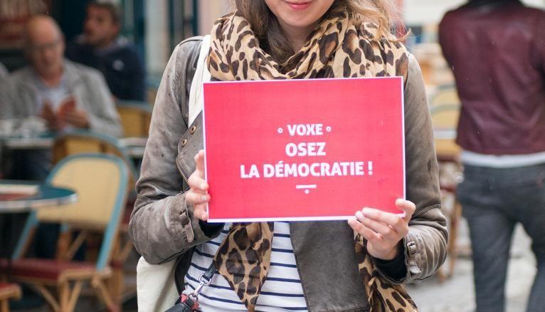 Léonore de Roquefeuil aimerait faire diminuer l'abstention des jeunes.