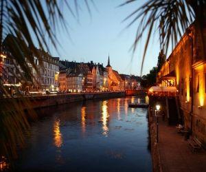 Le quai des Bateliers, à Strasbourg.
