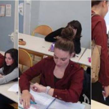 Cours- Salle - Eleves -Lycée - Aurelieg25 //©