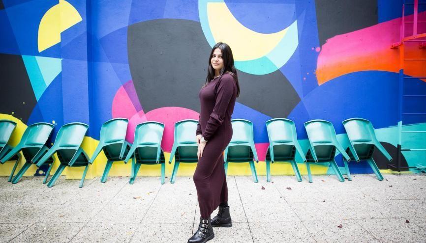 Claudia prévoit de se spécialiser dans le secteur du luxe en quatrième année. //©Florence Levillain pour L'Étudiant
