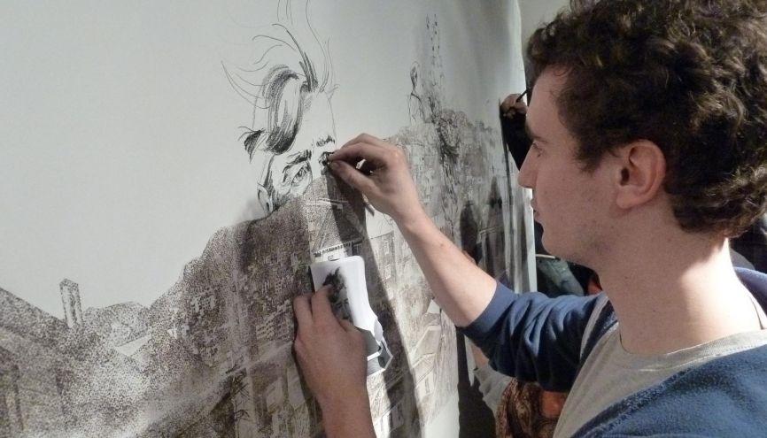 Webdesigners, graphistes, illustrateurs, typographes… À l'Epsaa, les enseignants sont connectés avec tous les champs de la création. //©EPSAA