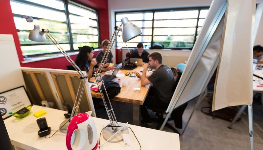 Les incubateurs vous acompagnent dans votre projet de start-up. Ici, le YEC à Troyes. //©Olivier Frajman