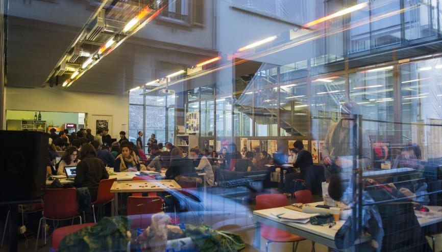 L'école d'architecture de Strasbourg recrute ses étudiants dès le bac. //©Cyril Entzmann pour l'Etudiant