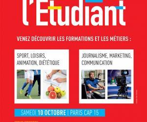 Affiche Rencontres de l'Etudiant Sports, loisirs, animations, communication, journalisme...