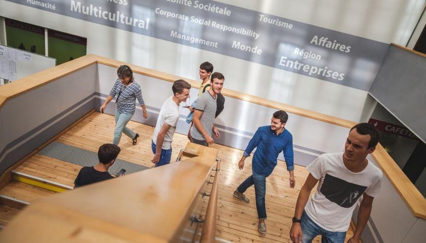 Le programme BBA de La Rochelle Business School recrute par le biais du concours SESAME. //©Facealamer/Sup de co La Rochelle