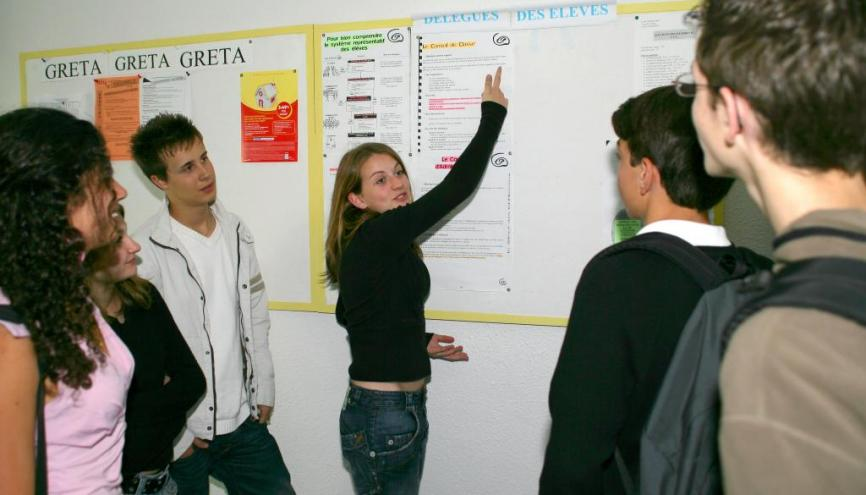 Des missions variées sont confiées au délégué de classe. //©Phovoir