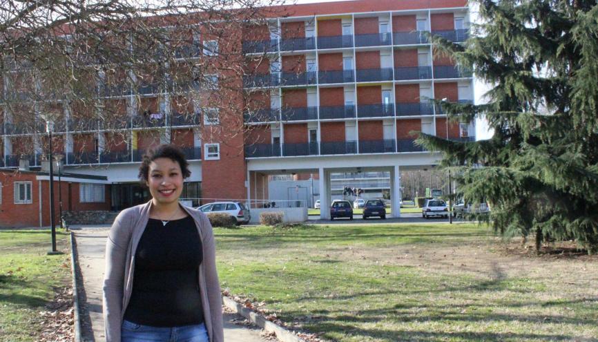 Pour faire des économies 12 % des étudiants choisissent de vivre en résidence universitaire. // © Delphine Dauvergne