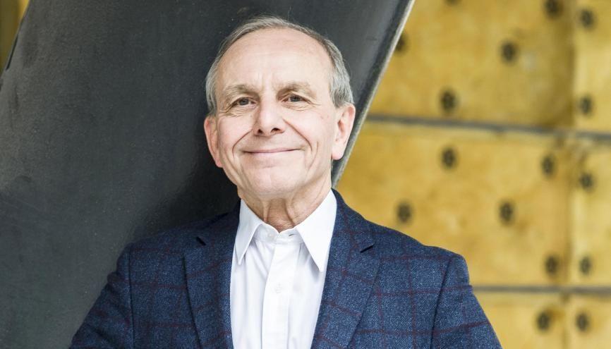 Axel Kahn : « Mon besoin de m'engager pour un monde plus juste est toujours resté intact.» //©Éric Garault pour L'Étudiant