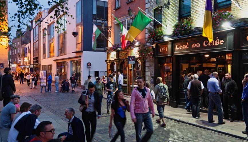 Attention, le budget à prévoir pour partir étudier en Irlande est relativement élevé. //©Karl Heinz RAACH/ LAIF-REA