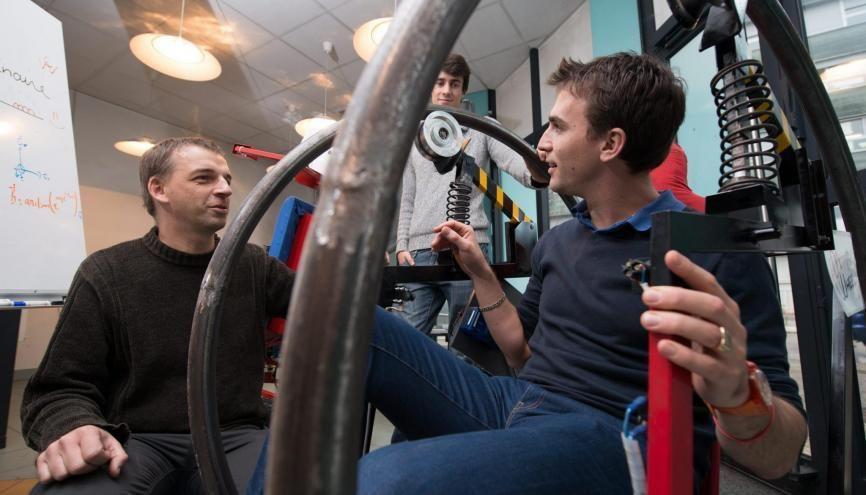 L'INSA Lyon est l'une des écoles d'ingénieurs françaises les plus présentes sur LinkedIn. //©Olivier GUERRIN pour L'Étudiant