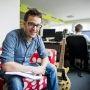 Travailler chez Viadeo : Romain, webdesigner // © Éric Garault