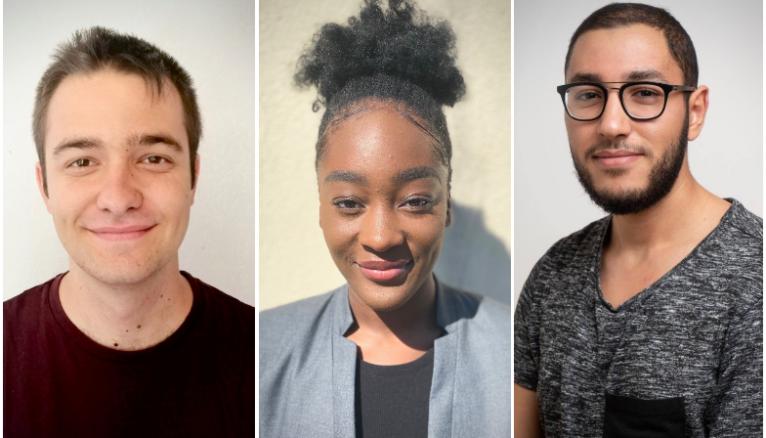 Baptiste, Alexandra et Soufian espère pouvoir vivre leur expérience à l'étranger le plus vite possible.