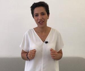 """Sarah El Haïry, secrétaire d'État en charge de la Jeunesse et de l'Engagement : """"En dix ans d'existence le service civique a fait la preuve de son efficacité""""."""