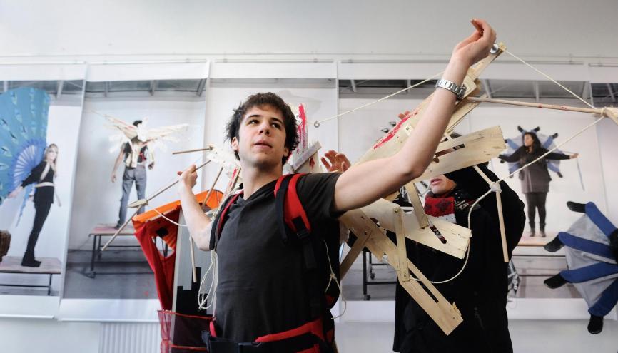 L'ENSAAMA-Olivier-de-Serres, avec ses formations allant de la MANAA au master, demeure l'une des grandes références de l'enseignements des arts appliqués, toutes disciplines confondues. //©Elisabeth Schneider