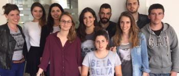 Les étudiants de licence 3 journalisme de l'IEJ