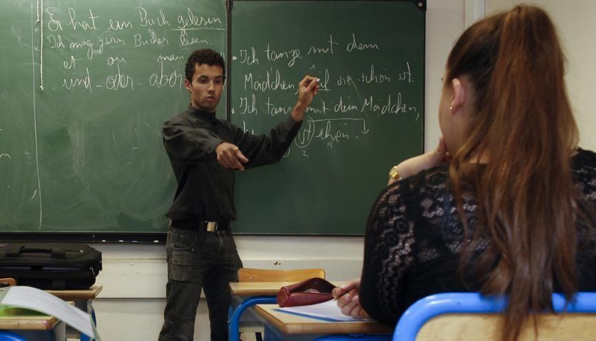 Les enseignants sont très à l'écoute de ces lycéens, qui peuvent être hypersensibles et qui n'acceptent pas de ne pas avoir de réponses à leurs questions. //©Laurent Carré pour l'Etudiant