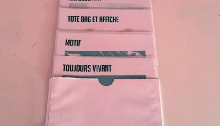Le book de Tea, étudiante à l'École supérieure d'art et de design de Valenciennes.