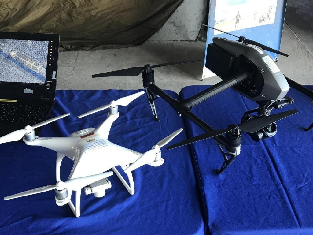 Le Cifed forme les pilotes à distance et les opérateurs des drones de l'armée de l'air //©Clément Rocher